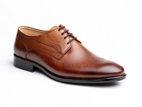 کفش چرم مردانه (کد 373)