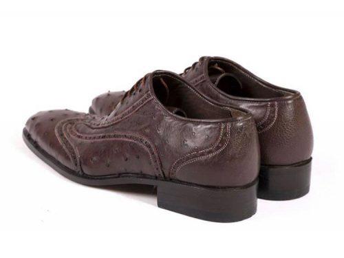 کفش چرم مردانه تبریز (مدل مارشال)