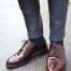 کفش زرشکی با چه شلواری ست میشه