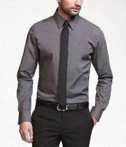 پیراهن مناسب شلوار خاکستری