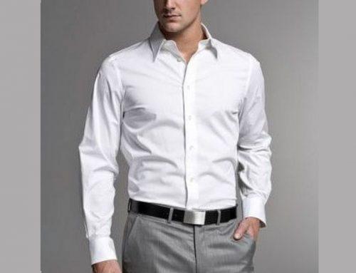 پوشیدن شلوار طوسی با پیراهن سفید برای آقایان چگونه به نظر میرسد