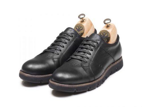کفش چرم مردانه تبریز قیمت (مدل فورتیس)| کفش دستدوز