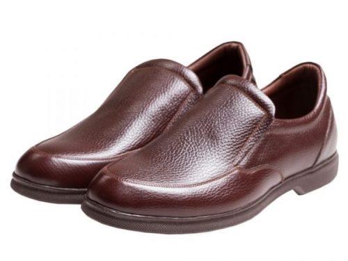 کفش طبی چرم مردانه تبریز |قیمت و مشخصات کفش چرمی طبی (مدل نروژی)