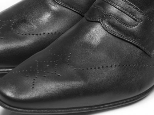 کفش چرمی مردانه تبریز (مدل فرانسوی)| کفش راحتی دستدوز