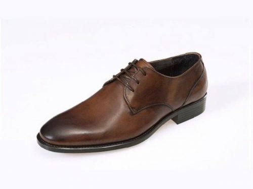 کفش رسمی چرم |کفش مردانه با چرم طبیعی گاو (کد ۲۰۰۱ روبرتو)