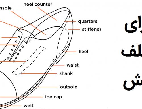 اجزای مختلف کفش که هر خریدار حرفهای باید بداند